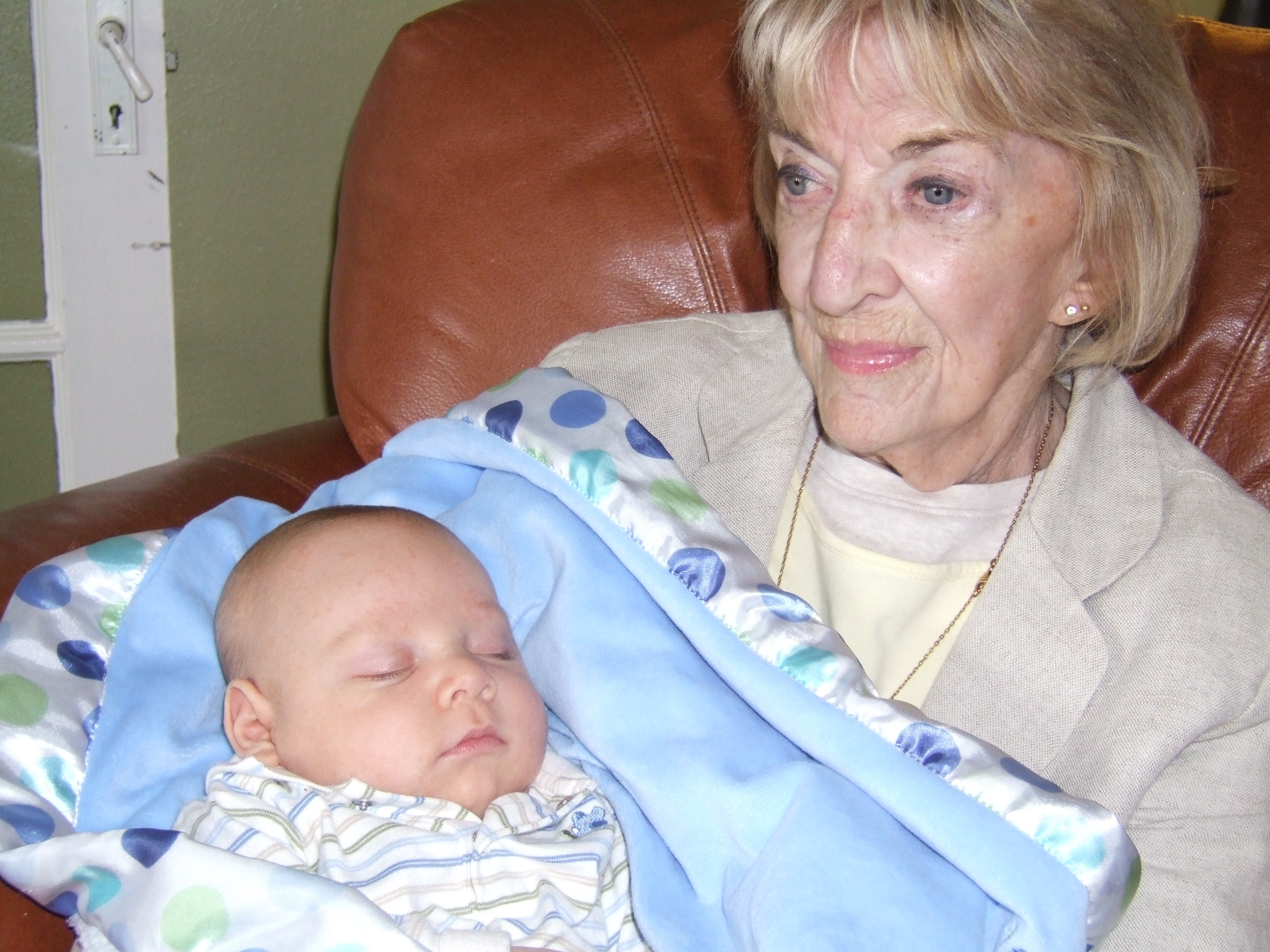 Grannie and her Grandson Isaac