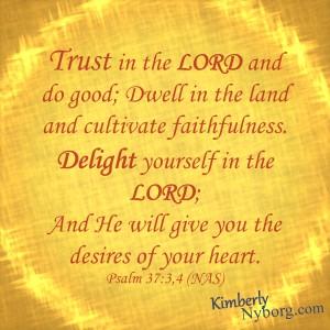 Psalm 37-3,4
