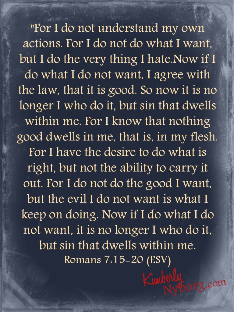 Romans 7.15-20