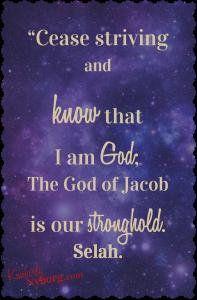 Psalm 46.10-11