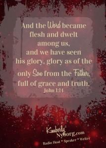 John 1.14 Christmas